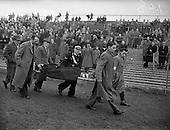 1959 - Soccer: Limerick v Drumcondra at Dalymount Park