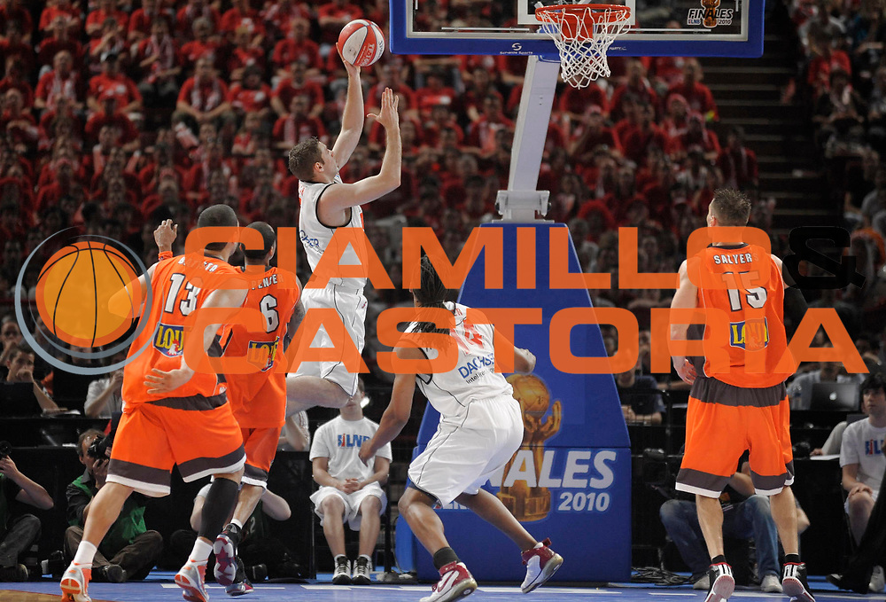 DESCRIZIONE : Ligue France Pro A  Le Mans Cholet  Finale<br /> GIOCATORE : Causeur Fabien<br /> SQUADRA : Cholet<br /> EVENTO : FRANCE Ligue  Pro A 2009-2010<br /> GARA : Le Mans Cholet<br /> DATA : 13/06/2010<br /> CATEGORIA : Basketball Pro A Action<br /> SPORT : Basketball<br /> AUTORE : JF Molliere par Agenzia Ciamillo-Castoria <br /> Galleria : France Ligue Pro A 2009-2010 <br /> Fotonotizia : Ligue France Pro A Le Mans Cholet Finale<br /> Predefinita :