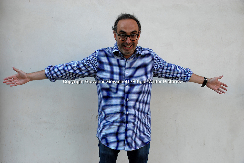 Gary Shteyngart, Festivaletteratura Mantova<br /> 06 September 2014<br /> <br /> Photograph by Giovanni Giovannetti/Effigie/Writer Pictures <br /> <br /> NO ITALY, NO AGENCY SALES