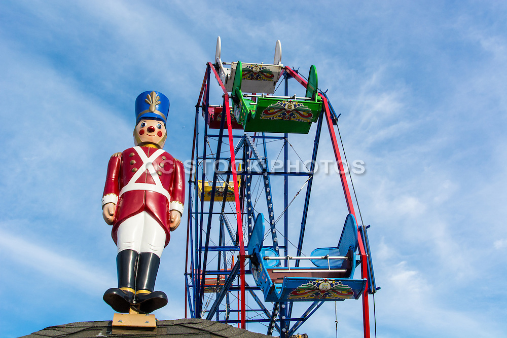 Ferris Wheel at Balboa Fun Zone in Newport Beach