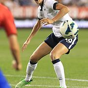 Yael Averbuch, USA, in action during the U.S. Women Vs Korea Republic friendly soccer match at Red Bull Arena, Harrison, New Jersey. USA. 20th June 2013. Photo Tim Clayton