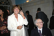 VALERIE GROVE AND JOHN MORTIMER, Book launch for 'the Anti-social Behaviour of Horace Rumpole' by John Mortimer and 'A Voyage Round John Mortimer' by Valerie Grove. -DO NOT ARCHIVE-© Copyright Photograph by Dafydd Jones. 248 Clapham Rd. London SW9 0PZ. Tel 0207 820 0771. www.dafjones.com.
