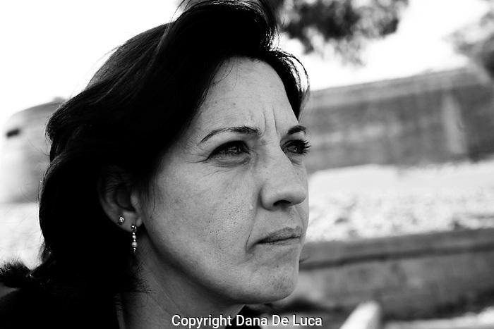 Magdalena Martin Pardo en Lerida_ castillo y penitenciario