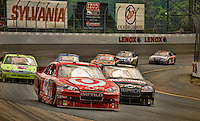 Lenox 301 race at New Hampshire Motor Speedway June 27, 2010.  (Karen Bobotas/for the Laconia Daily Sun).