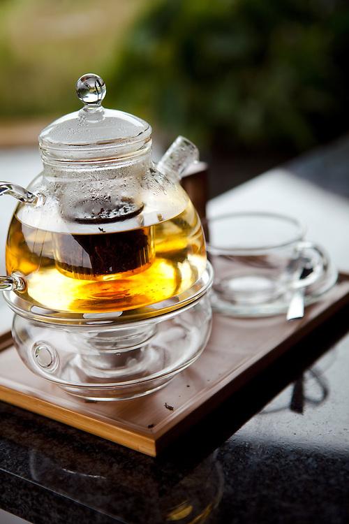Tea at the Nyungwe Forest Lodge, Rwanda