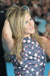 © Licensed to London News Pictures. 14/08/2013, UK. Jennifer Aniston, We're The Millers UK film premiere, Odeon West End cinema Leicester Square, London UK, 14 August 2013. Photo credit : Richard Goldschmidt/Piqtured/LNP