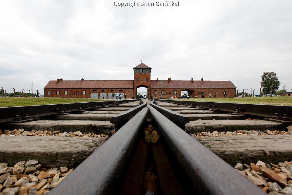 Auschwitz-Birkenau Concentration Camp in Poland on Tuesday July 5th 2011.  (Photo by Brian Garfinkel)