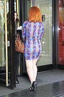 Katy B, Ivor Novello Awards, Grosvenor House Hotel London UK, 16 May 2013, (Photo by Richard Goldschmidt)