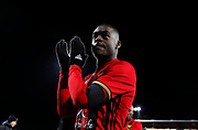 OSTERSUND, SWEDEN - MARCH 17: Ken Sema of Ostersunds FK leaves the pitch after the Swedish Cup Semifinal between Ostersunds FK and Malmo FF at Jamtkraft Arena on March 17, 2018 in Ostersund, Sweden. Photo: Nils Petter Nilsson/Ombrello ***BETALBILD***