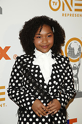 March 9, 2019 - Los Angeles, CA, USA - LOS ANGELES - MAR 9:  Laya DeLeon Hayes at the 50th NAACP Image Awards Nominees Luncheon at the Loews Hollywood Hotel on March 9, 2019 in Los Angeles, CA (Credit Image: © Kay Blake/ZUMA Wire)