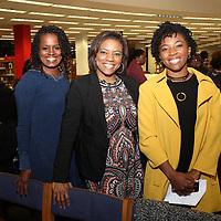 Kimberly Bracey-Cox, Derrika Solomon, Amber Solomon