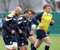 Invercargill-Rugby, RWC, Scotland team training