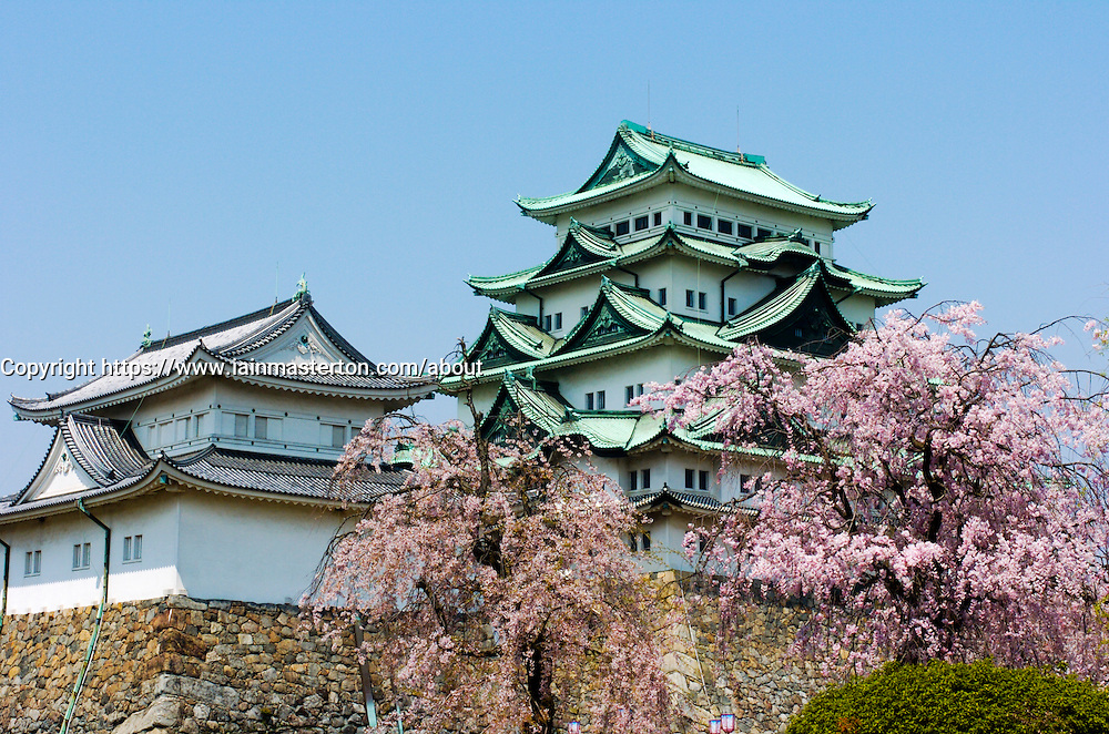 Famous Nagoya Castle in Japan