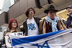 2018-04-08 SWNS - Protest by Jews against alleged antisemitism in Labour Party