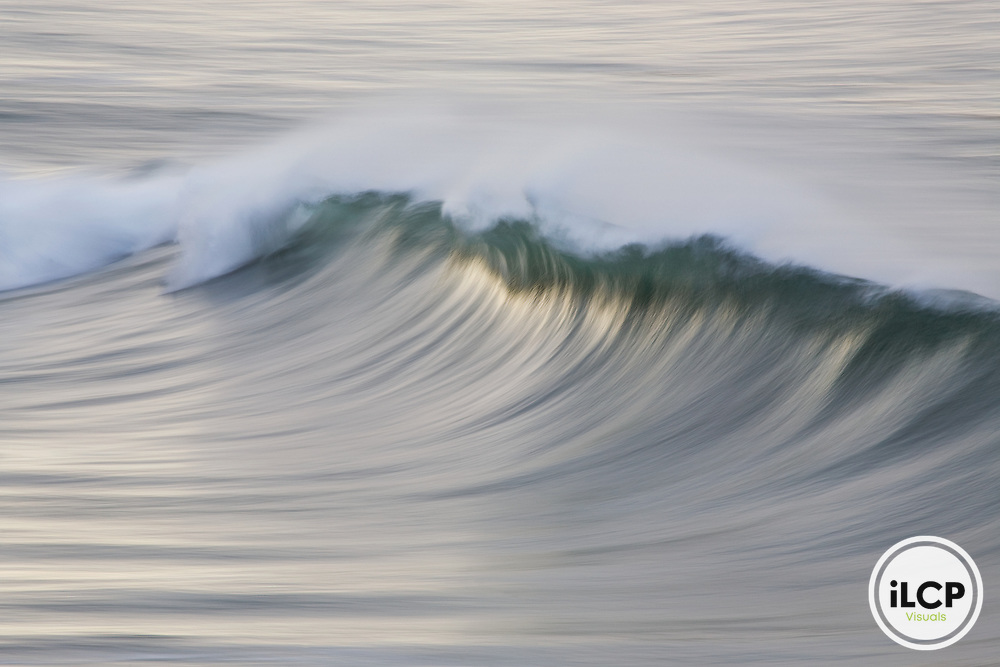 Wave breaking, Big Sur, California