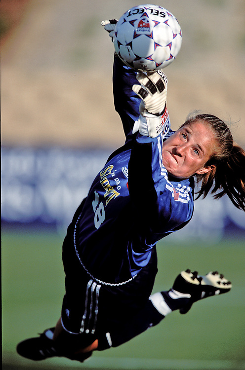 San Diego, CA - Soccer - San Diego Spirit - 2002 - Jamie Pagliarulo - Photo by Wally Nell.