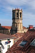 the church in Getaria.