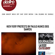 "Screengrab of ""Kiev Fiery protests"" published in Dodho Magazine"