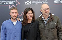 Edinburgh International Film Festival, Thursday, 21st June 2018<br /> <br /> Juror's Photocall<br /> <br /> Pictured: Iain De Caestecker, Ana Ularu and Jason Connery<br /> <br /> (c) Aimee Todd   Edinburgh Elite media