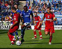 Photo: Kevin Poolman.<br />Leicester City v Colchester United. Coca Cola Championship. 23/09/2006. Darren Kenton (Leicester) breaks free from the Colcester defence.