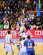 DESCRIZIONE : Equipe de France Homme Euro Lituanie a Siauliai 2011<br /> GIOCATORE : Noah Joachim<br /> SQUADRA : France Homme <br /> EVENTO : Euro Lituanie 2011<br /> GARA : France Serbie<br /> DATA : 05/09/2011<br /> CATEGORIA : Basketball France Homme<br /> SPORT : Basketball<br /> AUTORE : JF Molliere FFBB FIBA<br /> Galleria : France Basket 2010-2011 Action<br /> Fotonotizia : Equipe de France Homme <br /> Euro Lituanie 2011 a Siauliai <br /> Predefinita :