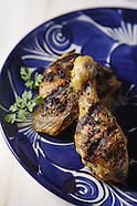 Grilled chicken oregano
