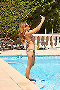 Made in Chelsea Star Binky Felstead looking stunning in Bikini while on holiday in Cannes<br /> ©Exclusivepix Media