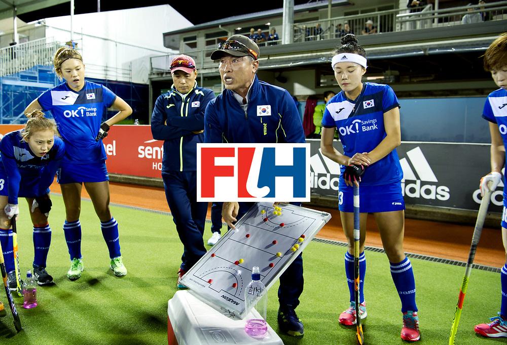 AUCKLAND - Sentinel Hockey World League final women<br /> Match id: 10318<br /> 18 NED v KOR (Semi Final)<br /> Foto: Jamilon M&Uuml;LDERS <br /> WORLDSPORTPICS COPYRIGHT FRANK UIJLENBROEK