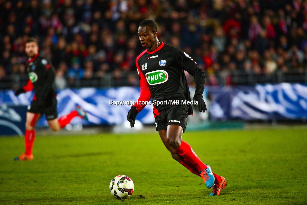 Nassa Guy Roland NIANGBO - 03.03.2015 - Boulogne / Saint Etienne - 1/4Finale Coupe de France<br />Photo : Dave Winter / Icon Sport
