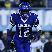 Middletown Wide Receiver Chris Godwin (12) leaves the field in the third quarter of the DIAA State Championship football game against Salesianum Saturday, Nov. 30 2013, at Delaware Stadium in Newark Delaware.