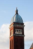 italianate church front in southsea  uk