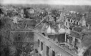 General view of Feuchy, east of Arras, as it was when retaken by the British, April 9th, 1917