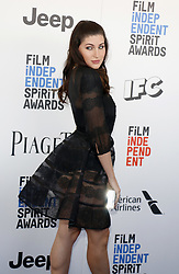 Trace Lysette at the 2017 Film Independent Spirit Awards held at the Santa Monica Pier in Santa Monica, USA on February 25, 2017.