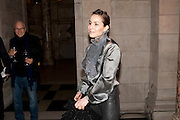 Noomi Rapace, Yohji Yamamoto exhibition opening. V & A Museum. London. 10 March 2011. -DO NOT ARCHIVE-© Copyright Photograph by Dafydd Jones. 248 Clapham Rd. London SW9 0PZ. Tel 0207 820 0771. www.dafjones.com.