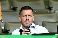 16/08/14 SCOTTISH PREMIERSHIP<br /> CELTIC v DUNDEE UTD<br /> CELTIC PARK - GLASGOW<br /> NK Maribor assistant manager Sasa Gajser does some scouting on the Celtic squad