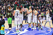 Team Banco di Sardegna Dinamo Sassari<br /> Banco di Sardegna Dinamo Sassari - Polski Cukier Twarde Pierniki Torun<br /> FIBA BCL Basketball Champions League 2019-2020<br /> Sassari, 15/01/2020<br /> Foto L.Canu / Ciamillo-Castoria