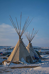 December 3, 2016 - Oceti Sakowin Camp at Standing Rock, ND (Credit Image: © Dimitrios Manis via ZUMA Wire)