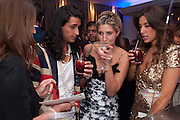OLLIE LOCKE; CHESKA HULL; GABRIELLA ELLIS, The London Bar and Club awards. Intercontinental Hotel. Park Lane, London. 6 June 2011. <br /> <br />  , -DO NOT ARCHIVE-© Copyright Photograph by Dafydd Jones. 248 Clapham Rd. London SW9 0PZ. Tel 0207 820 0771. www.dafjones.com.