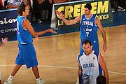 DESCRIZIONE : Bormio Torneo Internazionale Maschile Diego Gianatti Italia Israele <br /> GIOCATORE : Alessandro Cittadini Matteo Soragna <br /> SQUADRA : Nazionale Italia Uomini Italy <br /> EVENTO : Raduno Collegiale Nazionale Maschile <br /> GARA : Italia Israele Italy Israel <br /> DATA : 01/08/2008 <br /> CATEGORIA : Esultanza <br /> SPORT : Pallacanestro <br /> AUTORE : Agenzia Ciamillo-Castoria/S.Silvestri <br /> Galleria : Fip Nazionali 2008 <br /> Fotonotizia : Bormio Torneo Internazionale Maschile Diego Gianatti Italia Israele <br /> Predefinita :