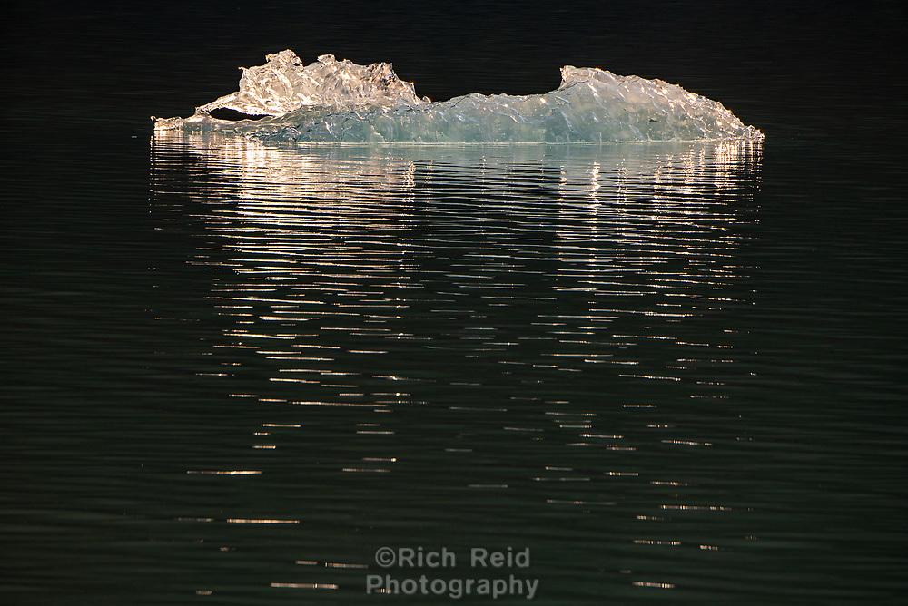 South Sawyer Glacier in Tracy Arm - Fords Terror Wilderness in Southeast, Alaska.