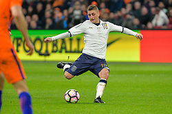 March 28, 2017 - Amsterdam, Netherlands - Marco Verratti from Italy during the friendly match between Netherlands and Italy on March 28, 2017 at the Amsterdam ArenA in Amsterdam, Netherlands. (Credit Image: © Andy Astfalck/NurPhoto via ZUMA Press)