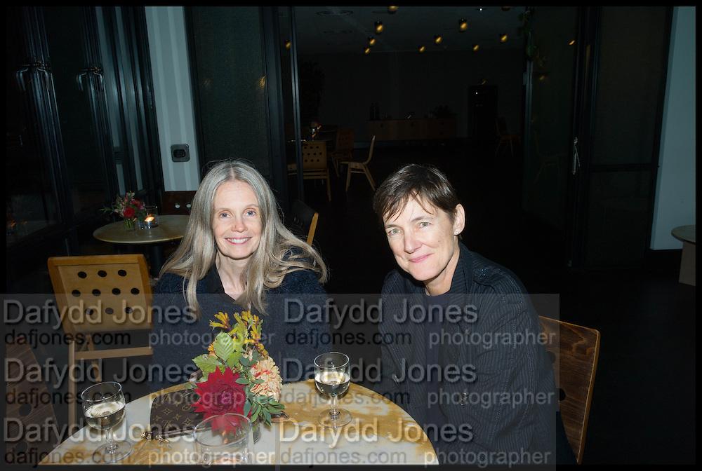 PAULINE DALY; SADIE COLES, Frieze party, ACE hotel Shoreditch. London. 18 October 2014