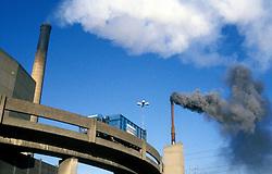 Howden refuse waste incinerator; North Tyneside; NE England UK
