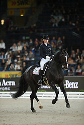 Brune Bernadette, (GER), Spirit Of The Age Old<br /> Grand Prix Kür<br /> Reem Acra FEI World Cup Dressage<br /> Stuttgart - German Masters 2015<br /> © Hippo Foto - Stefan Lafrentz