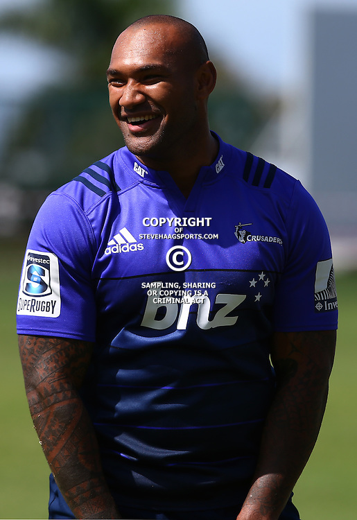 DURBAN, SOUTH AFRICA, 22,MARCH, 2016 -  Nemani Nadolo during The Crusaders training session  at Northwood School Durban North in Durban, South Africa. (Photo by Steve Haag)<br /> <br /> images for social media must have consent from Steve Haag