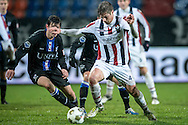 Onderwerp/Subject: Willem II - SC Heerenveen - Eredivisie<br /> Reklame:  <br /> Club/Team/Country: <br /> Seizoen/Season: 2012/2013<br /> FOTO/PHOTO: Jordens PETERS (R) of Willem II in duel with Marten DE ROON (L) of SC Heerenveen. (Photo by PICS UNITED)<br /> <br /> Trefwoorden/Keywords: <br /> #04 $94 ±1342781806743<br /> Photo- & Copyrights © PICS UNITED <br /> P.O. Box 7164 - 5605 BE  EINDHOVEN (THE NETHERLANDS) <br /> Phone +31 (0)40 296 28 00 <br /> Fax +31 (0) 40 248 47 43 <br /> http://www.pics-united.com <br /> e-mail : sales@pics-united.com (If you would like to raise any issues regarding any aspects of products / service of PICS UNITED) or <br /> e-mail : sales@pics-united.com   <br /> <br /> ATTENTIE: <br /> Publicatie ook bij aanbieding door derden is slechts toegestaan na verkregen toestemming van Pics United. <br /> VOLLEDIGE NAAMSVERMELDING IS VERPLICHT! (© PICS UNITED/Naam Fotograaf, zie veld 4 van de bestandsinfo 'credits') <br /> ATTENTION:  <br /> © Pics United. Reproduction/publication of this photo by any parties is only permitted after authorisation is sought and obtained from  PICS UNITED- THE NETHERLANDS