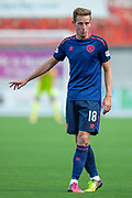 Steven MacLean of Heart of Midlothian during the Ladbrokes Scottish Premiership League match between Hamilton Academical FC and Heart of Midlothian FC at New Douglas Park, Hamilton, Scotland on 4 August 2018. Picture by Malcolm Mackenzie.