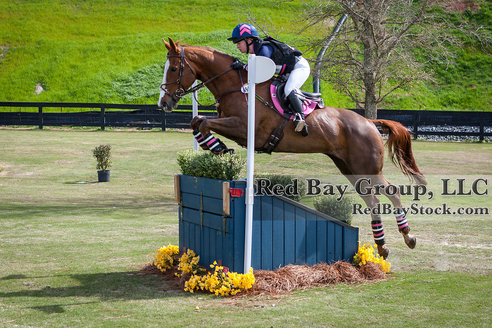 Dylan Phillips and Fernhill Fierce at The Fork Horse Trials at the Tryon International Equestrian Center in Mill Spring, North Carolina.