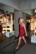 TATIANA JUDOR, Vogue: Fashion's Night Out: Armani. Bond st.  London. 8 September 2010.  -DO NOT ARCHIVE-© Copyright Photograph by Dafydd Jones. 248 Clapham Rd. London SW9 0PZ. Tel 0207 820 0771. www.dafjones.com.
