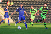 Cardiff Citys Anthony Pilkington during the Pre-Season Friendly match between Forest Green Rovers and Cardiff City at the New Lawn, Forest Green, United Kingdom on 15 July 2015. Photo by Shane Healey.